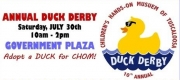 Children's Hands-On Museum's Tenth annual Duck Derby is Saturday