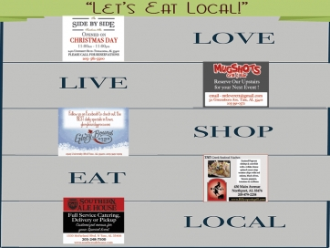 """Let's Eat Local"" this Week"
