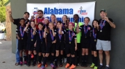 Tuscaloosa United U11 Girls Named State Cup Champions
