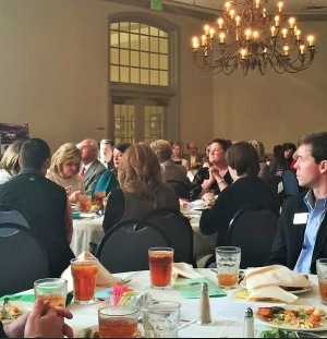 Area Realtors enjoying the December luncheon at Indian Hills Country Club.