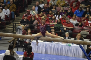 No. 4 Alabama gymnastics team looking for SEC three-peat this weekend in Little Rock (via Crimson Magazine)