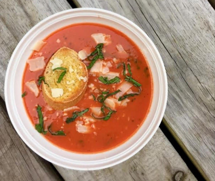 DCL Recipes: Tomato Basil Soup