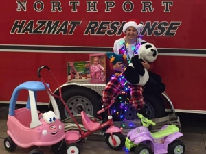 Northport Fire Rescue Gives Back to the Community This Holiday Season