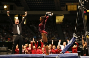 No. 4 Alabama gymnasts to host No. 25 Kentucky at Power of Pink meet (via Crimson Magazine)