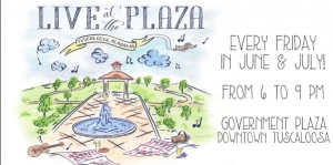 Live at the Plaza Canceled for Friday, June 17 (Weather)