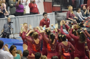 "Crimson Tide gymnasts focused on ""finding that .025"" as it hosts Tuscaloosa Regional this weekend (via Crimson Magazine)"
