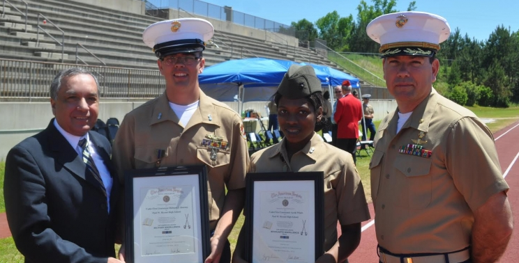 Honors for Local Junior ROTC Cadets
