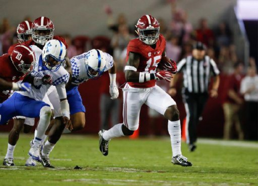 No. 1 Crimson Tide shakes off slow start to roll past Wildcats 34-6 (via Crimson Magazine)