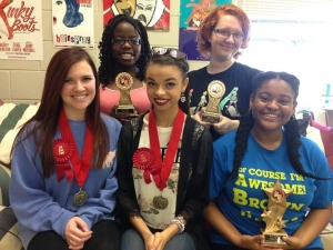 Paul W. Bryant High School Sending Six to State