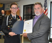 Hillcrest Student Takes Top Honors in American Legion Oratorical Contest